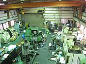 機械加工工場内観